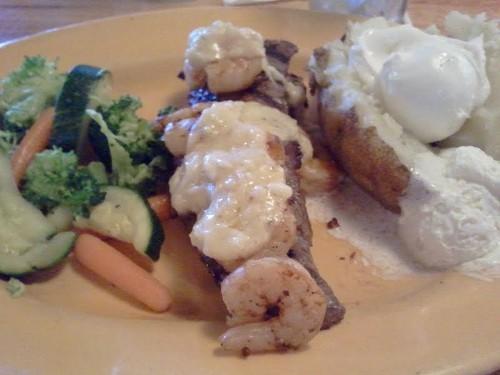 Steak from Applebee's Neighborhood Grill & Bar, Topeka, Kansas