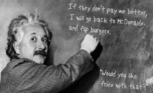 Einstein Theory of Payment