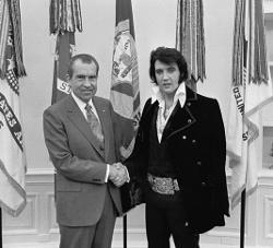 Elvis Blogs Here