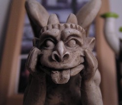 Try a Friendlier Gargoyle